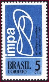 تمبـر برزیلی با موضوع نوار موبـیـوس