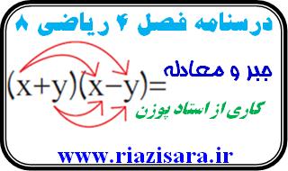 ریاضی 8, جبر و معادله
