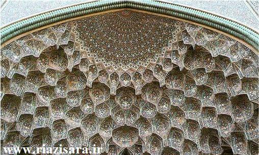 ریاضی در معماری اسلامی