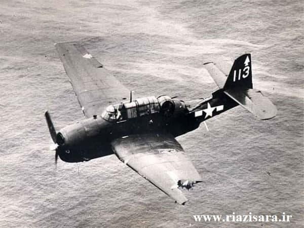 هواپیمای آسیب دیده جنگ جهانی دوم
